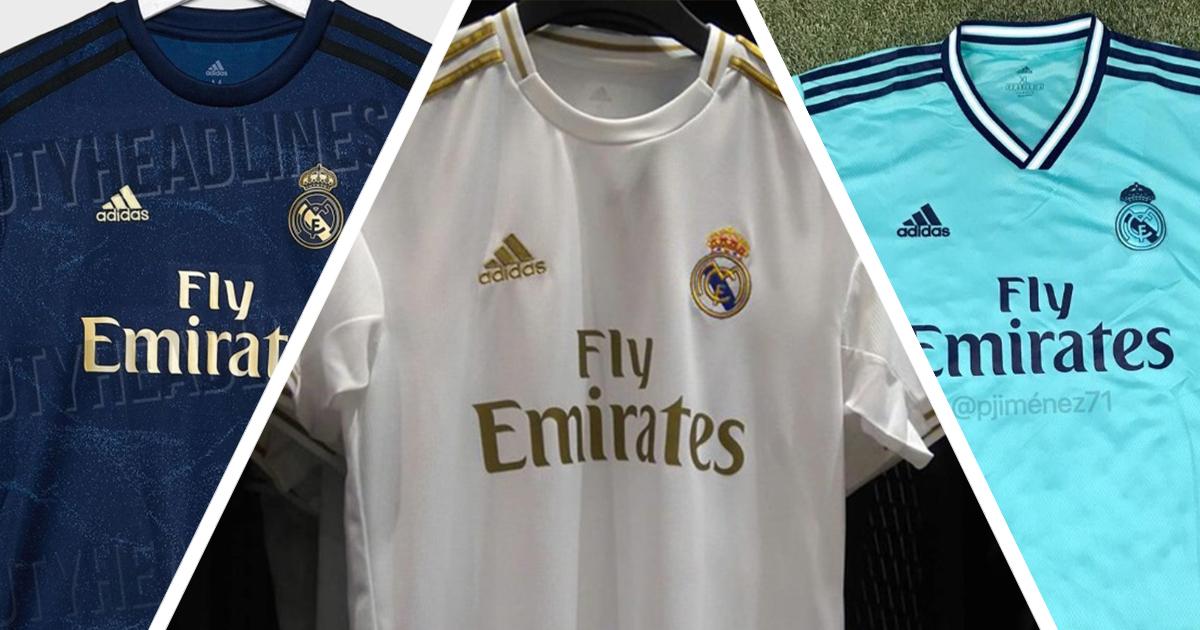 the best attitude 9c953 8b5c7 Leaked: Real Madrid 2019-20 goalkeeper kit revealed ...