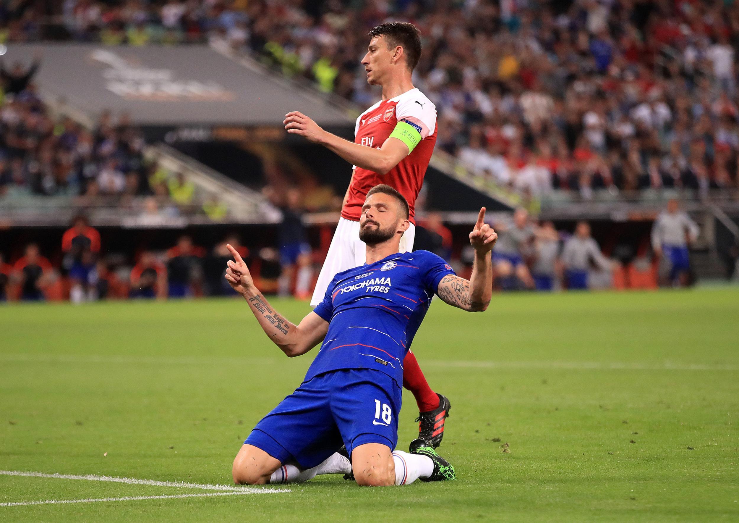 Giroud seems to have mocked Arsenal celebrating Europa League win - Tribuna.com