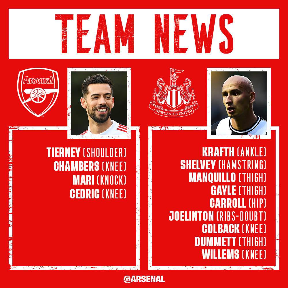 Arsenal vs Newcastle preview: line-ups, score predictions ...