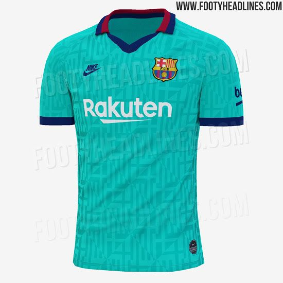 outlet store sale f3ac2 eaca8 Barcelona third kit leaked - Tribuna.com