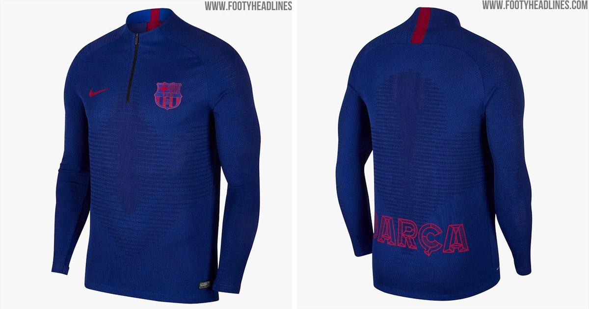 official photos aab4b faf4e Barca's training kit for the next season leaked - Tribuna.com