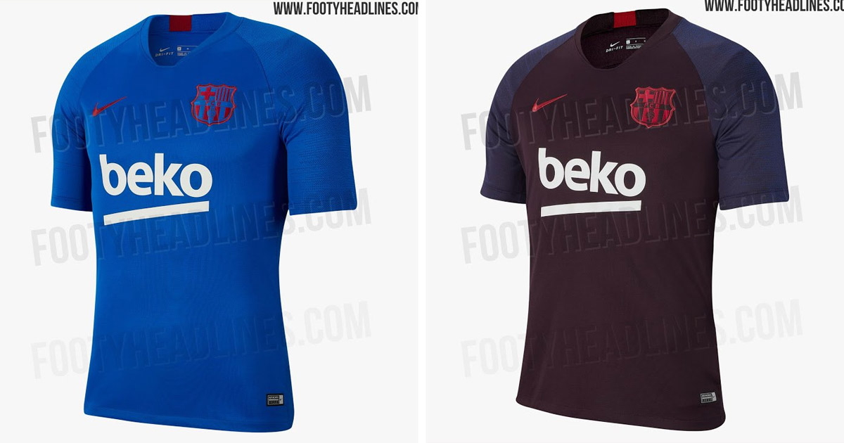 official photos c786c f8038 Barca's training kit for the next season leaked - Tribuna.com