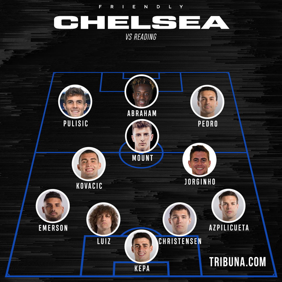 Chelsea Line Up Today Match / Man City Vs Chelsea Preview ...