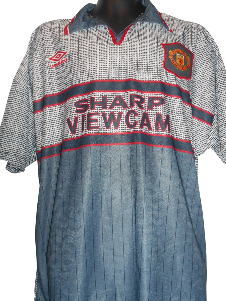 online retailer 3a71c 8f341 United away kit ranked among 8 greatest classic shirts in ...