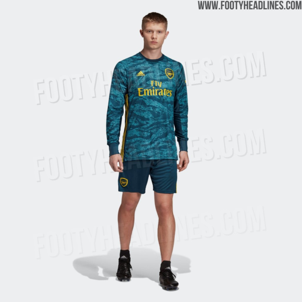 online store 72ea7 6eace Leaked: Arsenal goalkeeper home jersey for 2019/20 - Tribuna.com