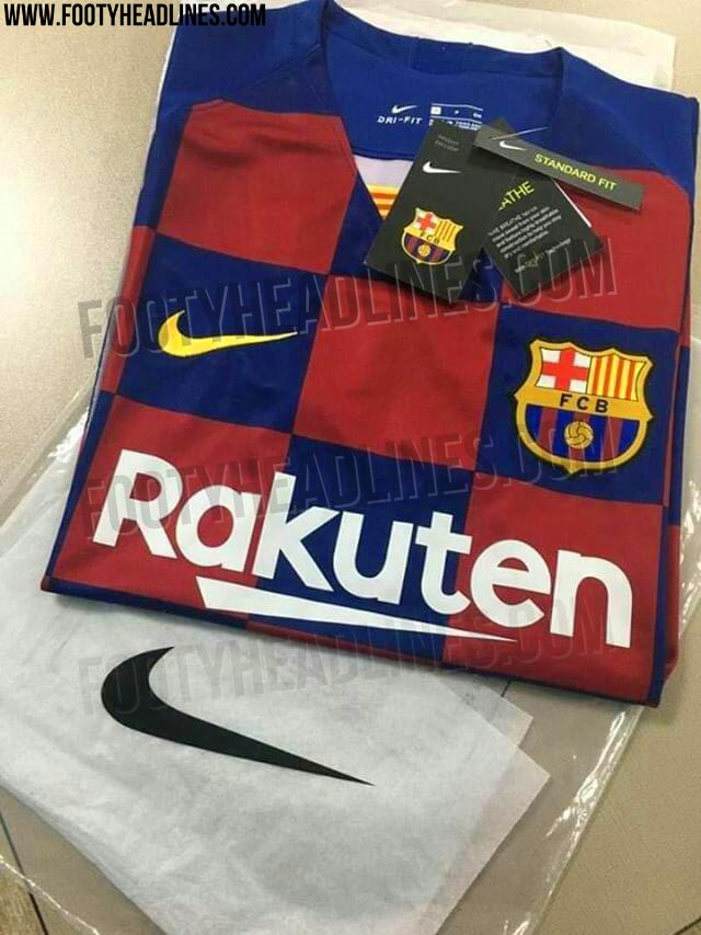 Photos of full Barca 2019/20 kit get leaked - Tribuna com