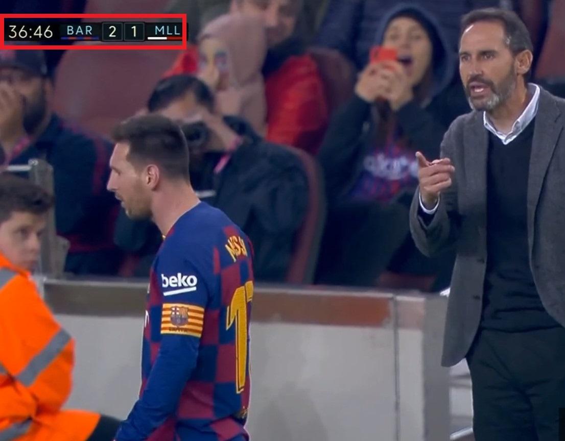 Liga: Vive tension entre Lionel Messi et le coach de Majorque
