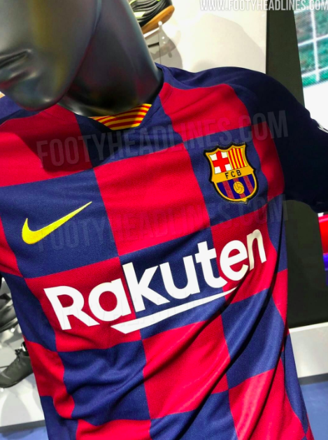 More images of Barca's 2019/20 home shirt leaked - Tribuna com