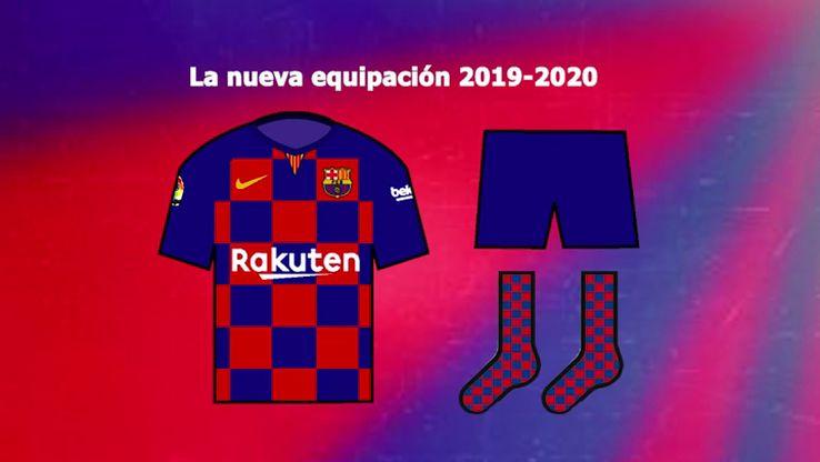 Leaked: Barca full home kit for 2019/20 season - Tribuna com