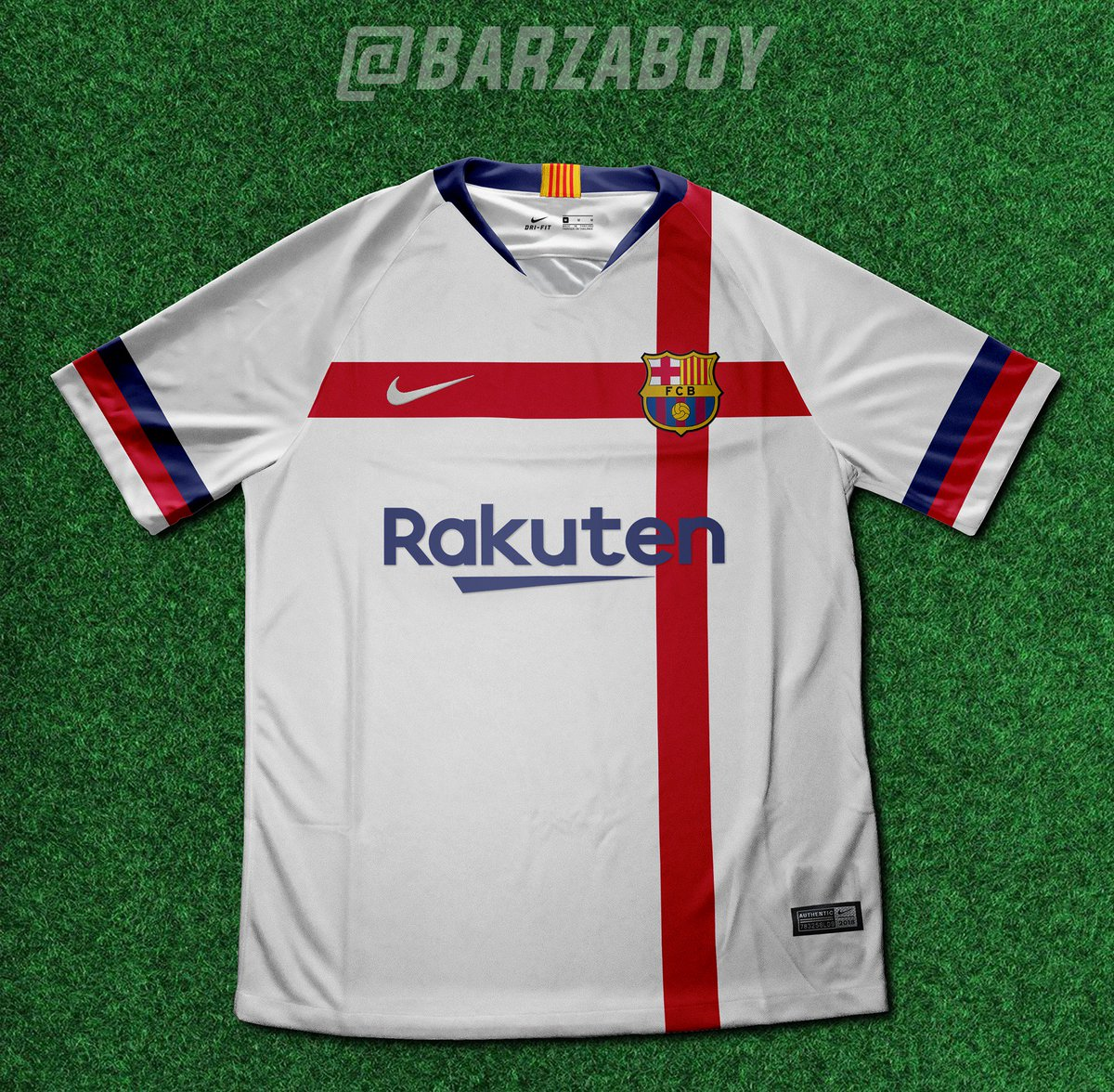 the latest d7ddc f677b Barcelona reject baffling white (!) kit proposal from Nike ...