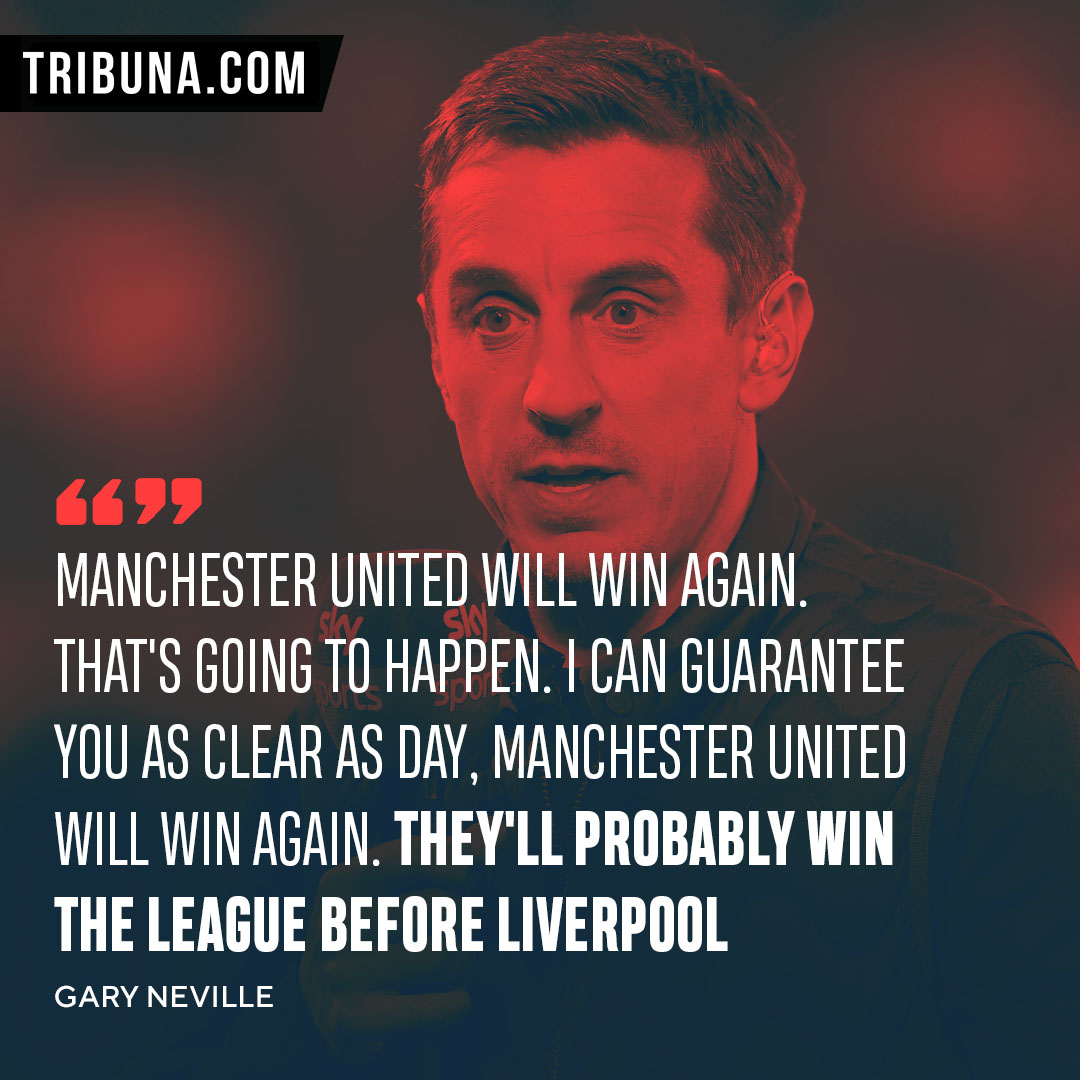 Neville Carragher Split Over United S Top 4 Chances In 2019 20 Tribuna Com