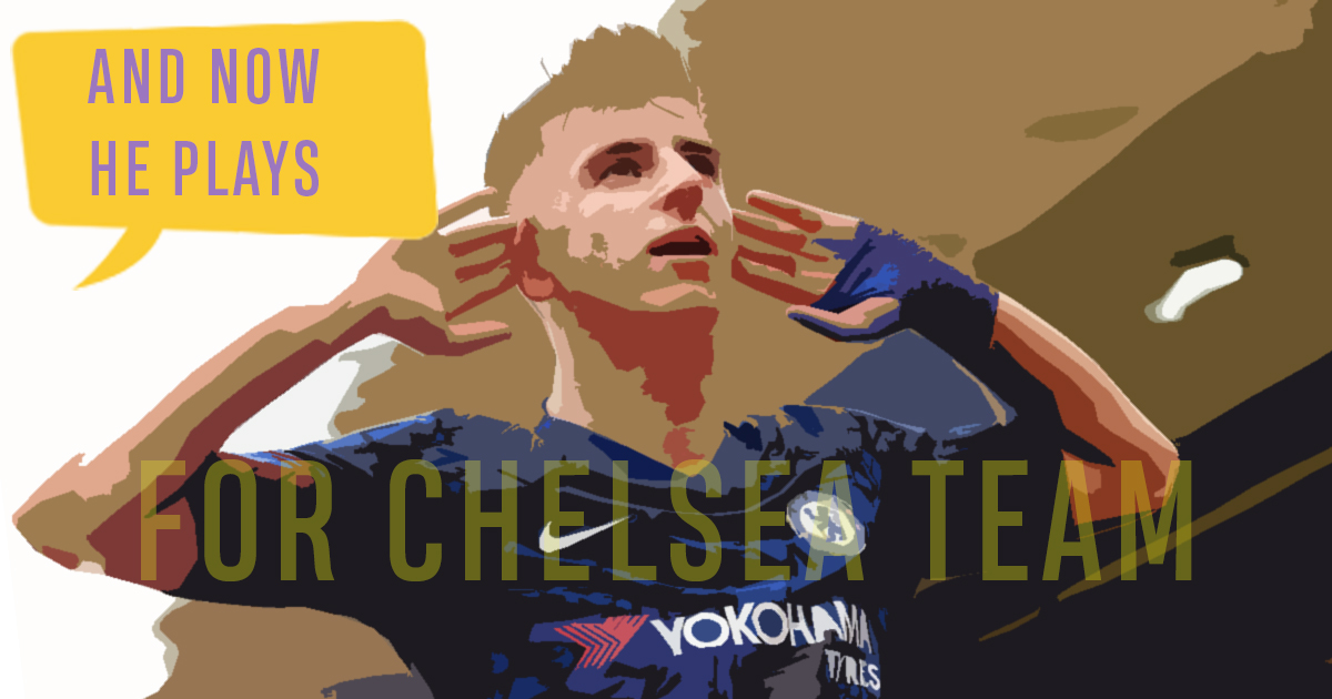 'There was a little Chelsea kid...': Mason Mount's ...